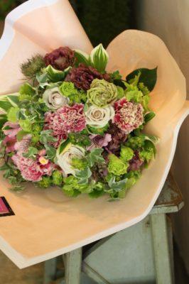 金沢市,お花屋さん,花束,母の日,発表会
