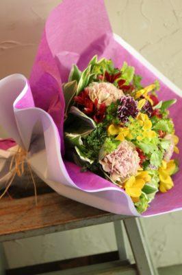 金沢市,花屋,花束,母の日