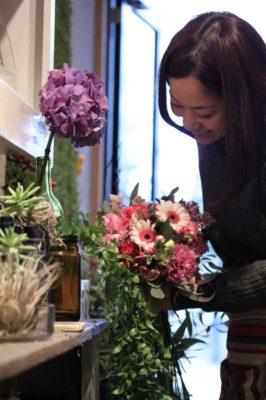 金沢市,花屋,花束,おしゃれ,ブーケ